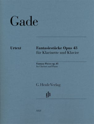 Pièces de Fantaisie, opus 43 Niels Wilhelm Gade Partition laflutedepan