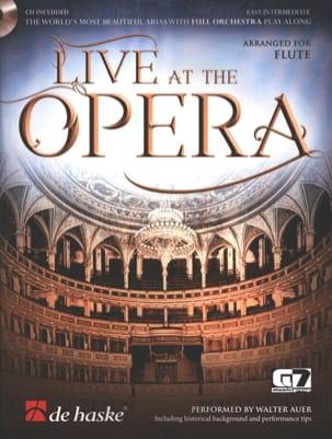 Live at the Opera - Flute - Sheet Music - di-arezzo.com
