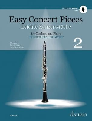 - Easy Concert Pieces - Vol. 2 - Partition - di-arezzo.fr