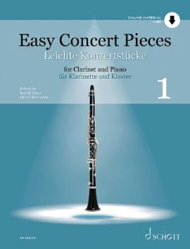 - Easy Concert Pieces - Vol. 1 - Partition - di-arezzo.fr