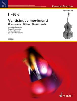 Nicholas Lens - Venticinque Movimenti - Partition - di-arezzo.fr