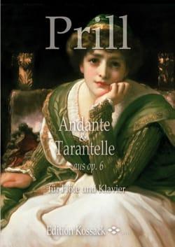 Emil Prill - Andante et Tarentelle - Flûte et Piano - Partition - di-arezzo.fr