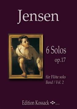 6 Solos op. 17 - Vol. 2 - Niels Peter Jensen - laflutedepan.com