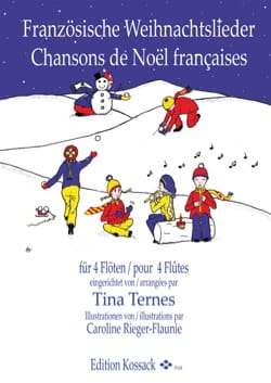 - French Christmas Songs - 4 Flutes - Sheet Music - di-arezzo.co.uk