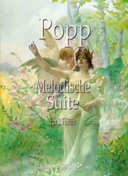Suite Mélodique - 2 Flûtes Wilhelm Popp Partition laflutedepan