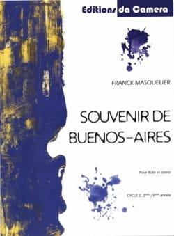 Souvenir de Buenos-Aires - Flûte et Piano - laflutedepan.com