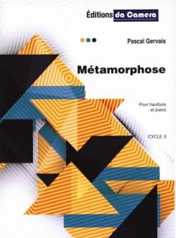 Métamorphose - Hautbois et Piano Pascal Gervais Partition laflutedepan
