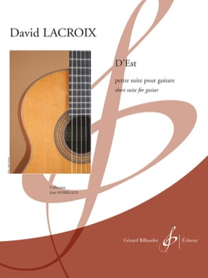 D'Est - Guitare - David Lacroix - Partition - laflutedepan.com