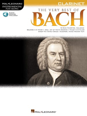 BACH - The Very Best of Bach - Clarinet - Partition - di-arezzo.fr
