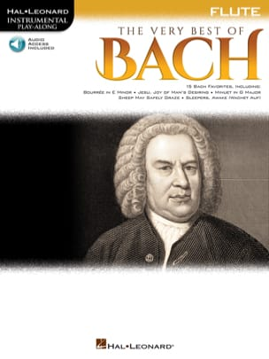Johann Sebastian Bach - The Very Best of Bach - Flute - Partition - di-arezzo.fr