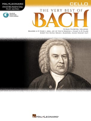 BACH - The Very Best of Bach - Cello - Sheet Music - di-arezzo.co.uk