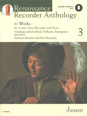 Renaissance Recorder Anthology 3 - Partition - laflutedepan.com