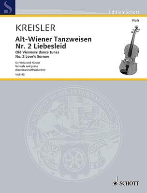 Liebesleid - Alto et Piano - Fritz Kreisler - laflutedepan.com