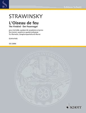 L'Oiseau de Feu - Sextuor - Igor Stravinsky - laflutedepan.com