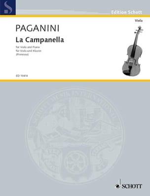 Niccolò Paganini - La Campanella, op. 7 - Partition - di-arezzo.fr