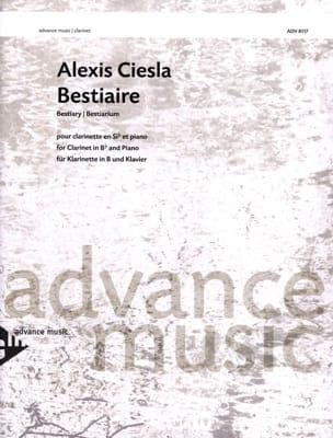 Alexis Ciesla - Bestiaire - Partition - di-arezzo.fr
