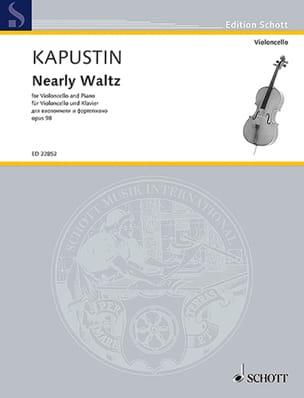 Nearly Waltz - Violoncelle et Piano Nikolai Kapustin laflutedepan