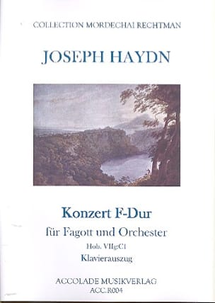 HAYDN - Konzert F-Dur Hob.VIIg:C1 - Partition - di-arezzo.fr