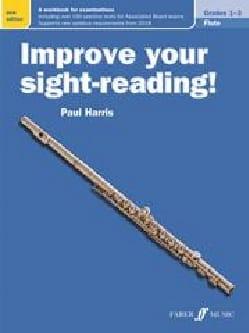 Paul Harris - Improve your sight-reading! - Flute - Sheet Music - di-arezzo.co.uk