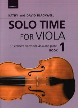 Solo Time for Viola - 1 Partition Alto - laflutedepan