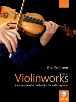 Violinworks - Vol. 2 Stephen Ros Partition Violon - laflutedepan