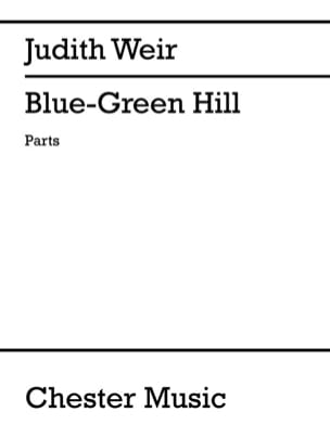 Judith Weir - Blue Green Hill - Sheet Music - di-arezzo.co.uk