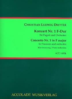 Concerto pour Basson N°1 - Basson et Piano - laflutedepan.com
