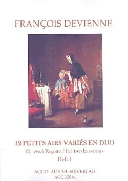 Francois Devienne - 12 Various Airs in Duo Vol. 1 - Sheet Music - di-arezzo.com