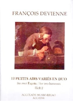 Francois Devienne - 12 Various Airs in Duo Vol. 2 - Sheet Music - di-arezzo.com