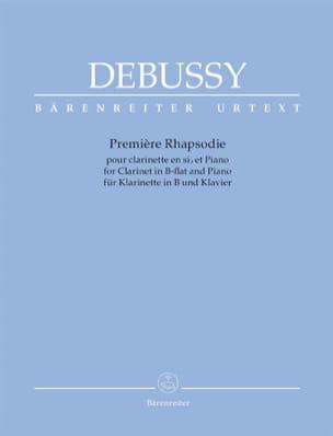 Claude Debussy - 1ère Rhapsodie - Partition - di-arezzo.fr