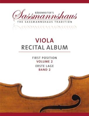 sassmannshaus - Viola Recital Album - Volume 2 - Partition - di-arezzo.fr