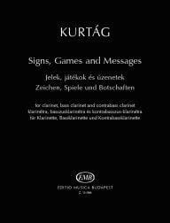 György Kurtag - Signs, Games And Messages - Sheet Music - di-arezzo.co.uk