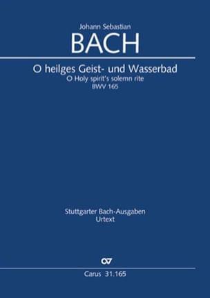 BACH - Cantate BWV 165 - Driver - Sheet Music - di-arezzo.com