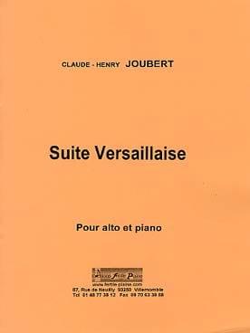 Claude-Henry Joubert - Suite Versaillaise - Partition - di-arezzo.fr