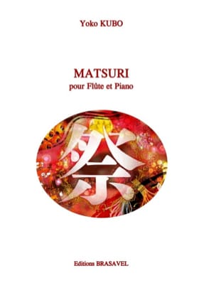 Matsuri Yoko Kubo Partition Flûte traversière - laflutedepan