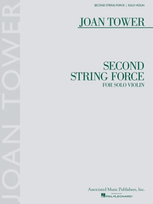 Second String Force - Violon solo Joan Tower Partition laflutedepan