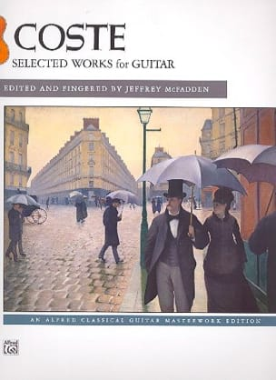 Selected Works for Guitar Napoléon Coste Partition laflutedepan