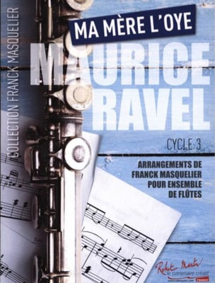 Ma Mère L'Oye - Ensemble de Flûtes RAVEL Partition laflutedepan
