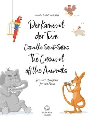 Le Carnaval des Animaux - 2 Flûtes SAINT-SAËNS Partition laflutedepan