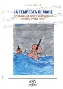VIVALDI - The Tempesta di Mare - 5 Double Bass - Sheet Music - di-arezzo.co.uk