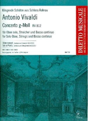 Concerto en sol mineur RV 812 - Antonio Vivaldi - laflutedepan.com
