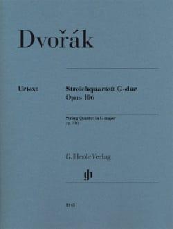 Quatuor à Cordes, op. 106 - Parties séparées DVORAK laflutedepan