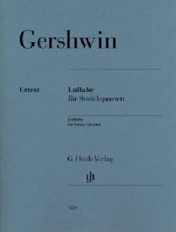Lullaby - GERSHWIN - Partition - Quatuors - laflutedepan.com