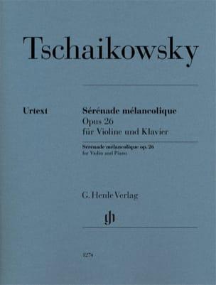 Sérénade Mélancolique - TCHAIKOVSKY - Partition - laflutedepan.com