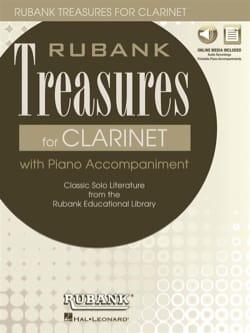 Rubank Treasures for Clarinet Partition Clarinette - laflutedepan