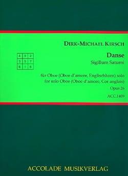 Dirk-Michael Kirsch - Danse op. 26 - Partition - di-arezzo.fr