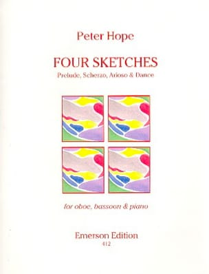 Peter Hope - Four sketches - Partition - di-arezzo.fr