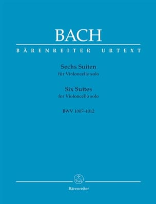 6 Suites - Violoncelle Solo BACH Partition Violoncelle - laflutedepan