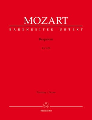 Wolfgang Amadeus Mozart - Requiem - Conducteur - Partition - di-arezzo.fr