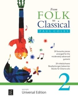 Paul Coles - From Folk to Classical - Vol. 2 - Partition - di-arezzo.fr